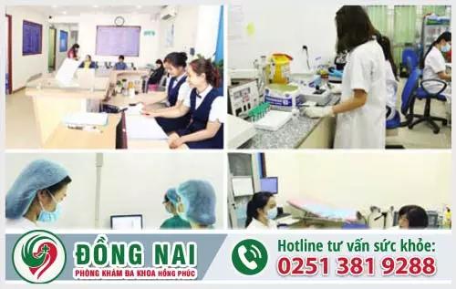 Ứng dụng công nghệ điều trị hiện đại tại Phòng khám Hồng Phúc Biên Hòa Đồng Nai